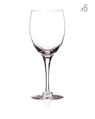 Cristal de Sévres Caja de 6 Copas de Vino Blanco Beaujolais
