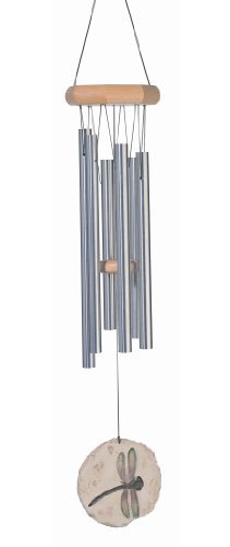 Russ Berrie WC-GEO-105 Dragonfly JW Stannard Geotunes Wind Chime