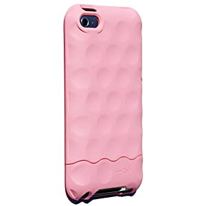 Hard Candy Bubble Slider Case for iPod Touch 4G - Pink