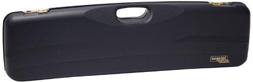 Negrini Cases 1605IS/4790 Shotgun Case for O/U SXS/PP/1 Gun/1 Barrel up to 31 1/4-Inch, Blue/Blue (Negrini Gun Cases compare prices)