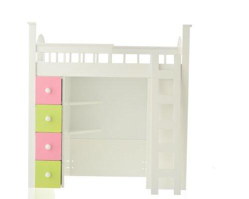 Loft Beds For Girls 6777 front