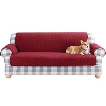 Sure Fit Furniture Friend Claret Red Loveseat Protector