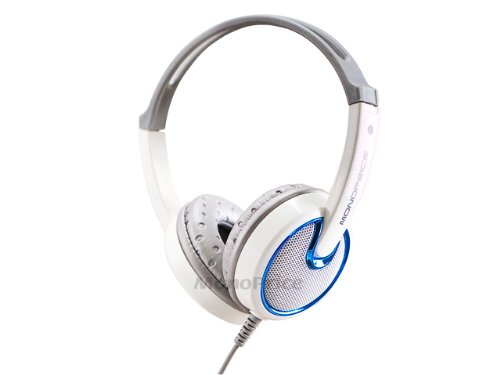 Monoprice 108325 Sonic Elegance Hi-Fi Over The Ear Headphone For Cellphones - Retail Packaging
