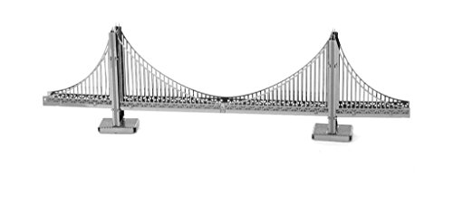 Fascinations Metal Earth San Francisco Golden Gate Bridge 3D Metal Model Kit (Golden Gate Bridge Model compare prices)