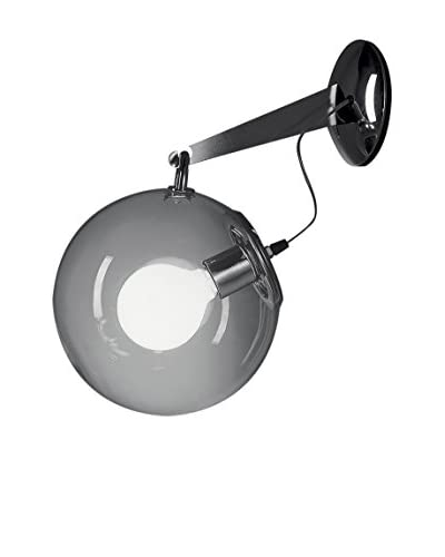 Artemide wandlamp Miconos kristal / metallic Ø25 P 32,5 cm