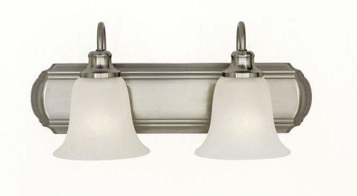 Murray Feiss Mf Vs10702 Morningside 2 Light Bathroom Vanity Light, Brushed Steel