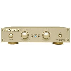 ラステーム RDA-212 (30W+30W(4Ω) アナログ入力デジタルステレオパワーアンプ)