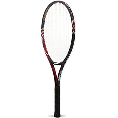 Burn BN509 - Size 26 Tennis Racquet, Standard (Red/Black)