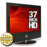 LG 37LG60 37-Inch 1080p LCD HDTV, Gloss Piano Black with Scarlet Red