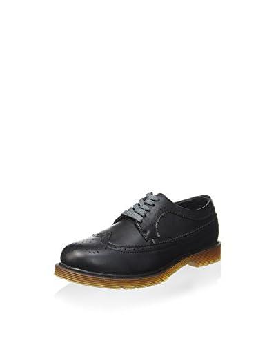 Avirex Zapatos de cordones Negro Brillo