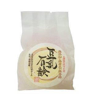 無添加 豆乳石鹸 100g