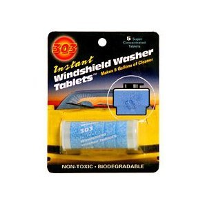 Top Products In 2016 303 Instant Windshield Washer Tablets 5 Per Pack Automotive Car Care