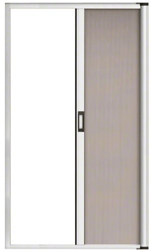 Crl White 84 Euro Retractable Screen Door Kit By Cr