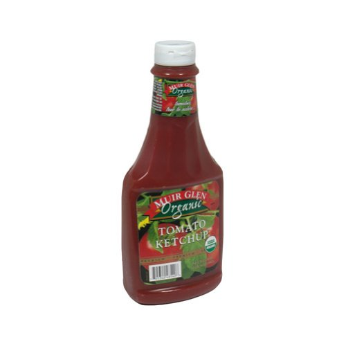Muir Glen Organic Tomato Ketchup, 24-Ounce Plastic Bottles (Pack of 12)