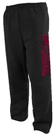 Buy NCAA Stanford Cardinal Mens Dri-Power Open-Bottom Fleece Pocket Pant by Russell Athletic