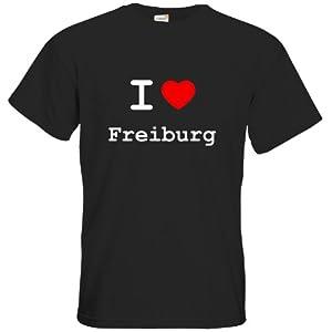 T-Shirt - I love Freiburg - I love Shirt - in versch. Farben & Größen