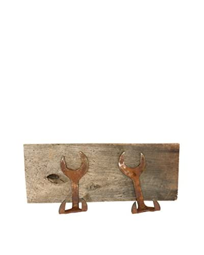 Uptown Down Double Wrench Coat Rack