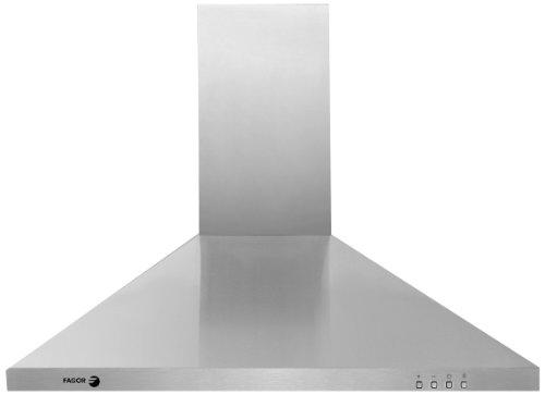 Fagor 60Cfp-36Ix 3-Speed Setting Island Pyramid Hood With 600 Cfm Blower System, 36-Inch