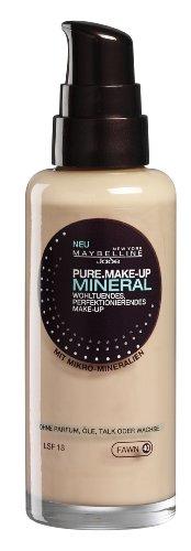 Maybelline Jade Pure.Make-Up Mineral Flüssig Make-Up, 40, fawn
