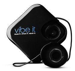 Vibe It: Portable Sound System That Turns Ordinary Objects Into a Speaker; Model VIMB10 Black