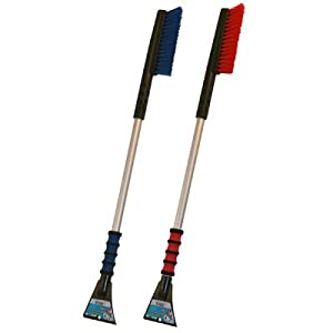 "Mallory 996-35 MAXX 35"" Long Reach Snow Brush with Foam Grip and Clear Aluminum Handle - Color Varies by Mallory USA"