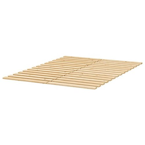 Ikea sultan lade slatted bed base for queen size beds reviews bedroom furniture mattresses - Ikea queen size box spring ...