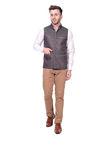 Lee Marc Jute Men's Multicolor Blazer(LEMC14_44)  available at amazon for Rs.850