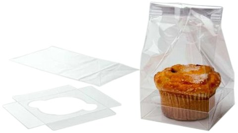 Dress My Cupcake Single Jumbo Cupcake Bag, Set Of 100 front-508587
