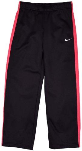 Nike Big Girls (7-16) KO 2.0 Fleece Training Pants-Black/Pink-Large