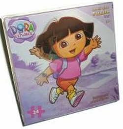 Dora the Explorer Lenticular 3 Dimensional Puzzle 2 Assortment - 1