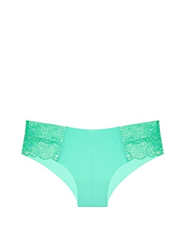 Victoria's Secret PINK The Date No-Show Cheekster Panty Small Seafoam