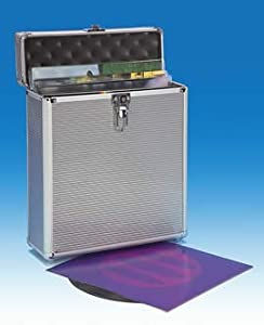 Flight case valigia in alluminio per 25 vinili 12 - Valigia porta vinili ...