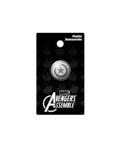 Marvel Captain America Shield Lapel Pin - 1