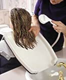 Hair Washing Tray - Our exceptionally easy-to-use EZ-SHAMPOO HAIR WASHING TRAY is contoured to fit neck comfortably and rest on client's shoulders for easy shampooing.
