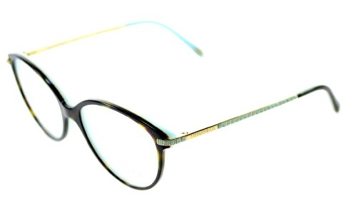 Tiffany Eyeglasses TF 2059B 8134 Top Havana Blue