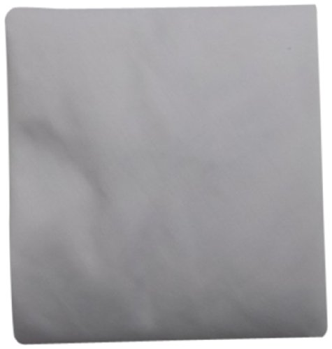Baby Doll Solid Round Crib Sheet, White front-756510