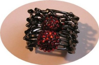 Red Heavy Spider COSTUME Bracelet