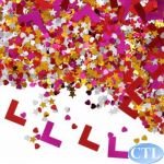 HEN NIGHT PARTY L PLATE CONFETTI