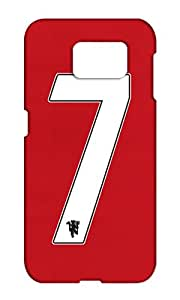 Samsung Galaxy S6 Edge Plus Manchester United Football Club Design Back Cover - Printed Designer Cover - Hard Case - SGS6EPCMBMUFC0168