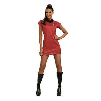 [Deluxe Uhura Costume - Medium - Dress Size] (Star Trek Uhura Deluxe Costumes)