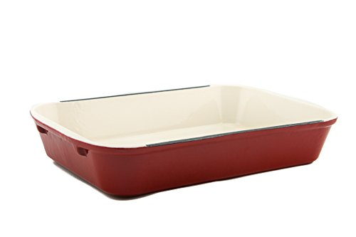 Useful. UH-CI197 Cast Iron Enameled 14-Inch Roasting Lasagna Pan (Roasting Pan 14 Inch compare prices)