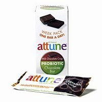 Attune Foods Chocolate Crisp Probiotic Bar -- 4x7x0.7 Oz (Attune Bars compare prices)