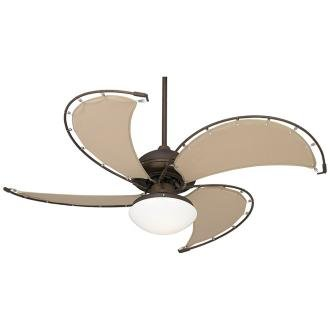 "Casa Vieja Cool Vista Ceiling Fan - 52"" Oil-Rubbed Bronze"