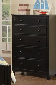 Beautiful Chest in Black Finish PDS f40237