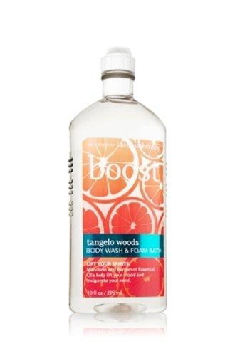 バス&ボディワークス アロマセラピー ブースト タンジェロウッズウォッシュ&フォームバス Aromatherapy Boost Tangelo Woods Body Wash & Foam Bath