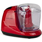Andrew James Red Mini Chopper, Processor, Blender, Grinder, Slicer, Baby Food. New In Stock (Red)