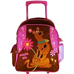 Warner Bros Scooby Doo Luggage : School Kid Size Rolling Backpack