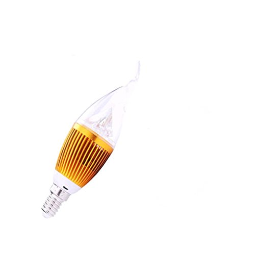 Generic 12W High Power E14 Gold A Candle Light Warm White Bulb Lights
