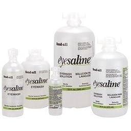 32 oz Saline Solution Eye wash refill Fend-all NEW