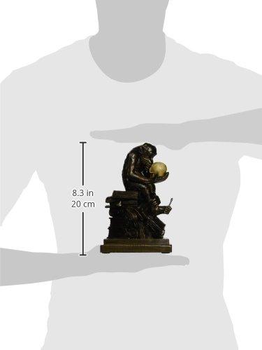 Design Toscano Darwin's Ape Sculpture